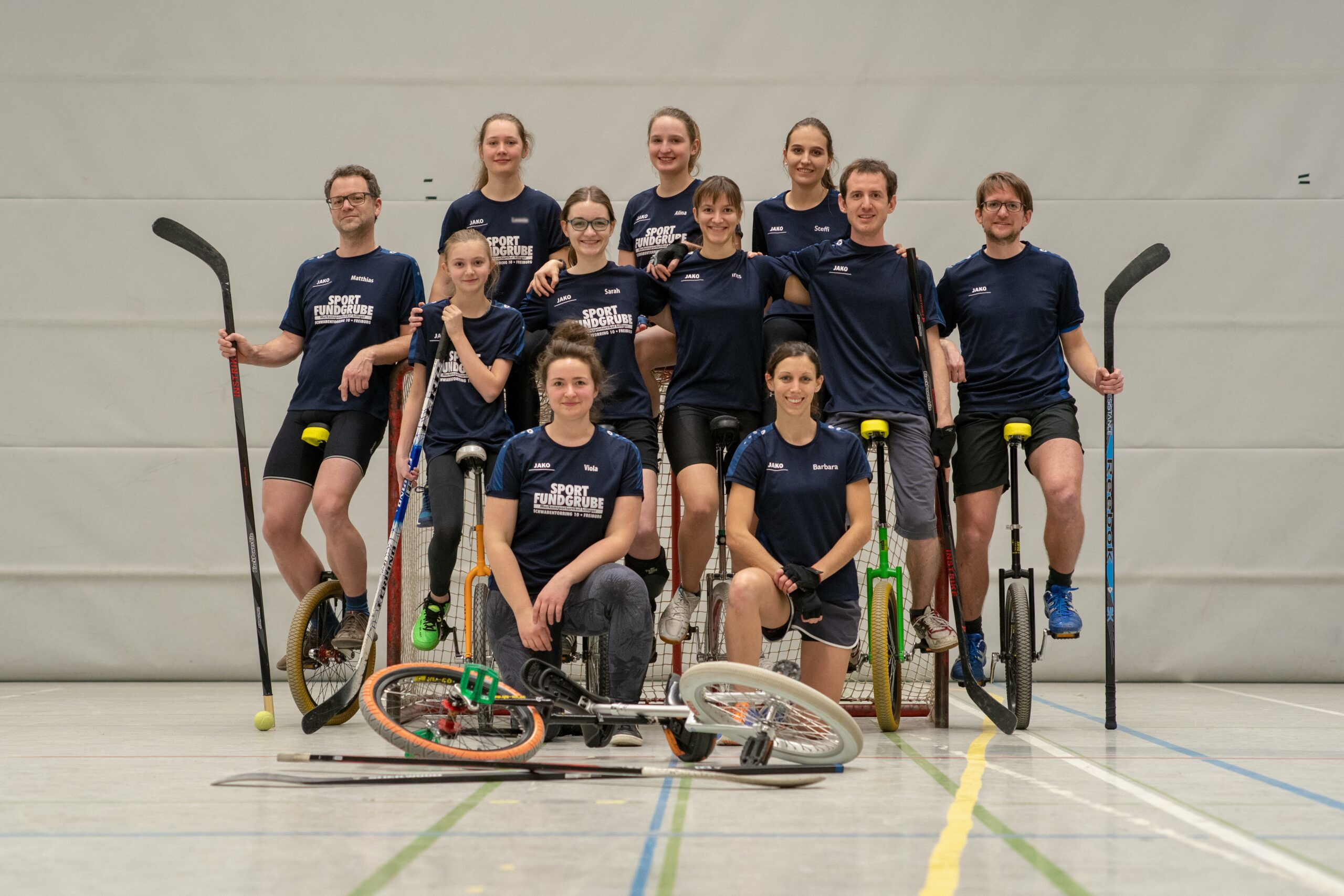 Einradhockey Teamfoto